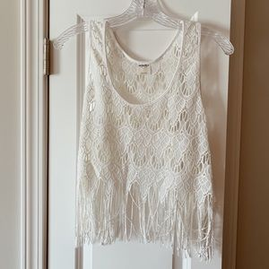 Free People Beach Tank with fringe